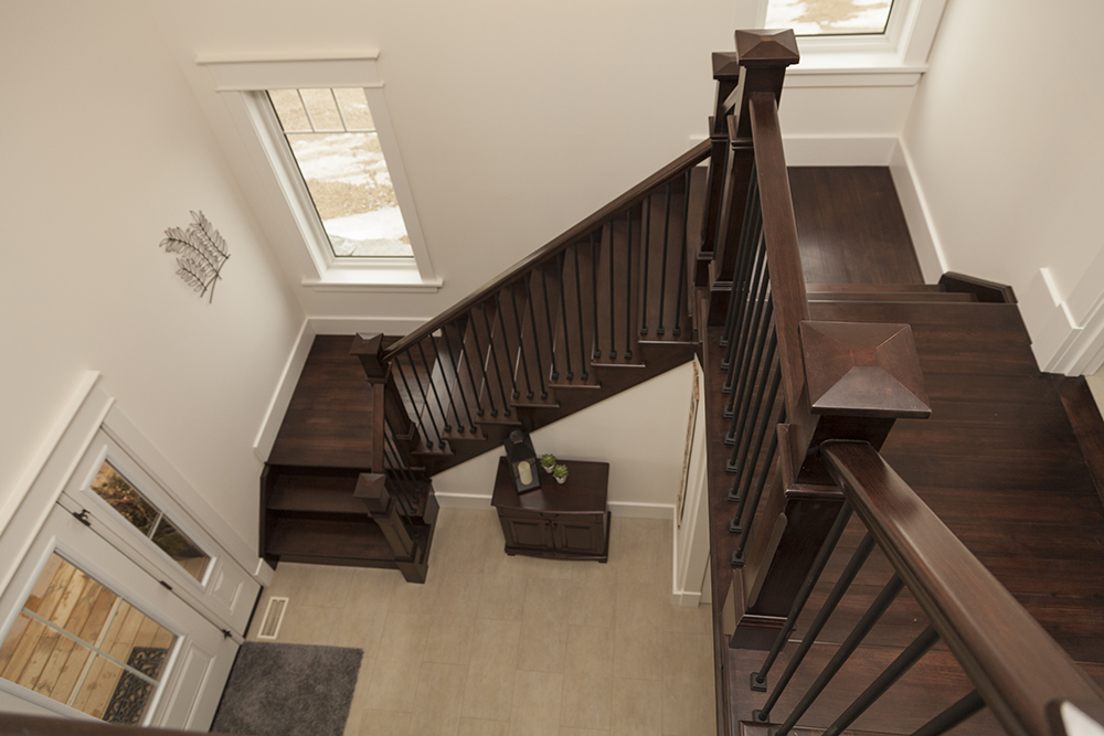 Custom Built Stairs and Railings