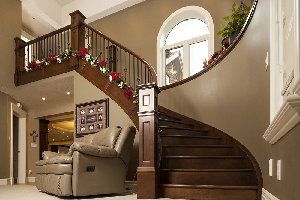 Artistic Stairs | Custom Stairs at WoodLand Horizon