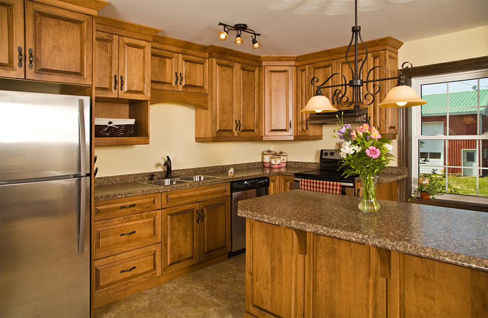 Custom Kitchen Cabinets - WoodLand Horizon