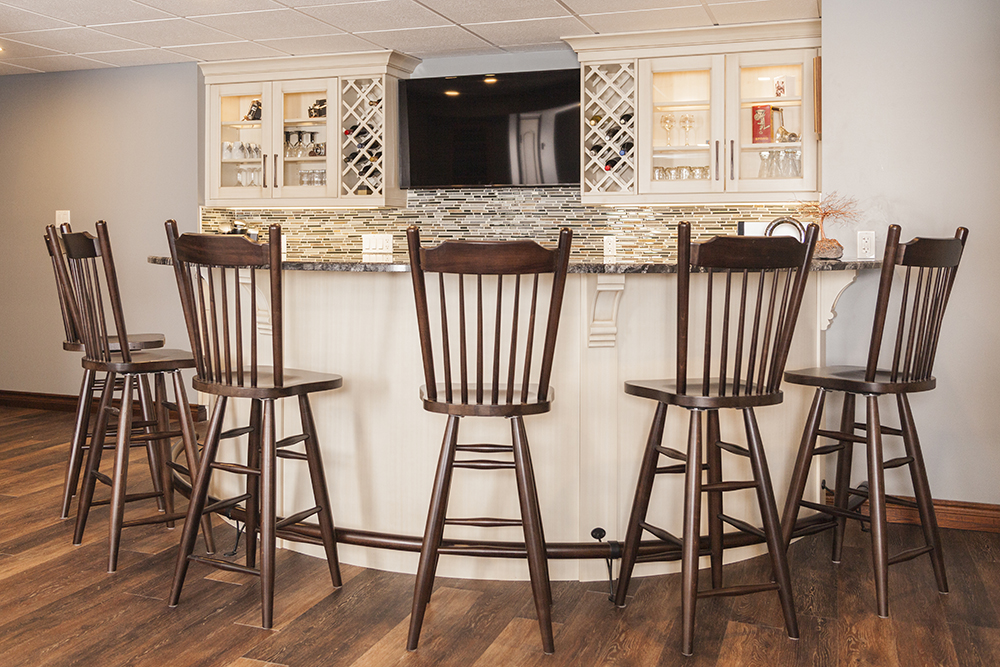Bar Design | Built in Cabinets for bars at WoodLand Horizon
