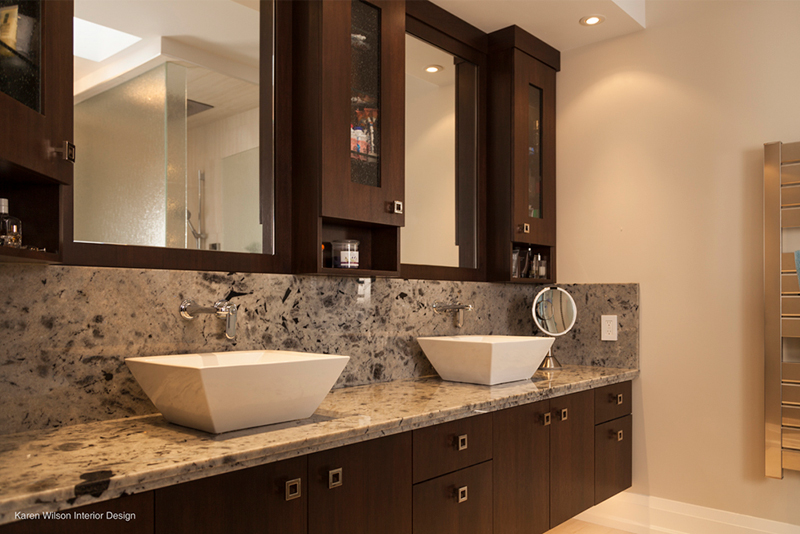 Custom Bathroom Cabinets and Vanities - WoodLand Horizon