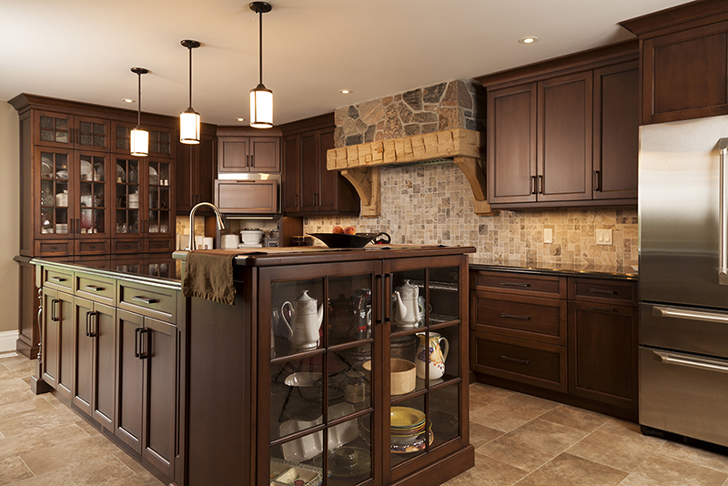 Best Custom Kitchen Cabinets - Woodland Horizon
